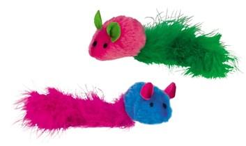 Nobby hračka se zvukem myšky 2ks 20 cm
