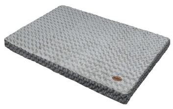 Nobby Seoli podložka s paměťovou pěnou šedá 92x65x9 cm