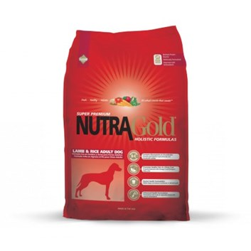Nutra Gold Holistic Lamb&Rice Adult Dog 15 Kg