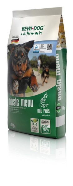 BEWI DOG Basic Menue - with rice 800 g
