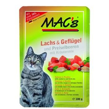 Kaps. MACs Cat LOSOS, DRŮBEŽ a BRUSINKA 100 g