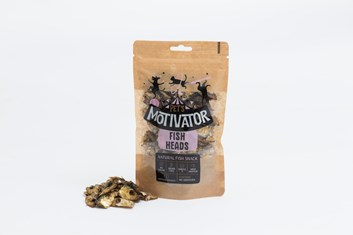 Pet`s Motivator FISH HEADS 80 g