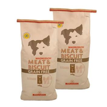 DVOJBALENÍ MAGNUSSON Meat & Biscuit GRAIN FREE 14 Kg