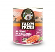 Farm Fresh salmon&herring with peas&cranberries 375 g 11+1 zdarma