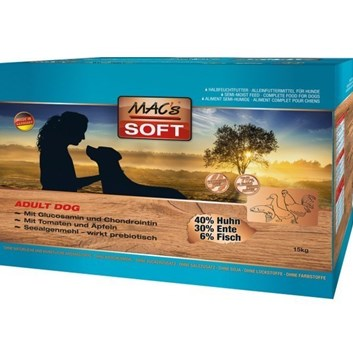 SOFT MACs Dog GRAIN FREE  15 Kg ( 3 x 5 Kg )