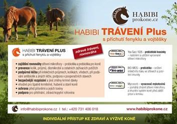 HABIBI speciální směs - TRÁVENÍ PLUS 3 Kg - 60 dní