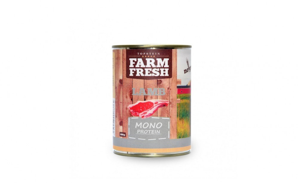 Farm Fresh - Mono protein lamb  800g
