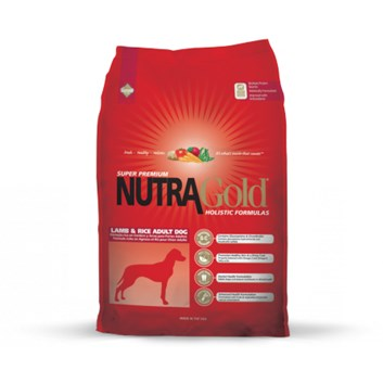 Nutra Gold Holistic Lamb&Rice Adult Dog 3 Kg