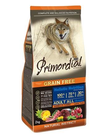 Primordial JEHNĚČÍ & TUŇÁK pro dospělé psy 2kg
