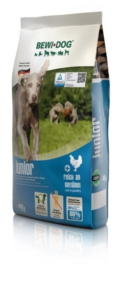 BEWI DOG Junior - rich in poultry 25 Kg