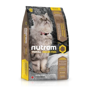 T22 Nutram Total Grain Free Turkey, Chicken & Duck Cat 6,8 Kg