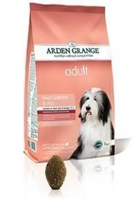 Arden Grange Adult: fresh salmon & rice  24 Kg ( 2 x 12 Kg )
