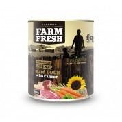 Farm Fresh – Sheep & Duck with Carrot 800 g