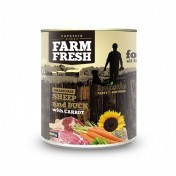 Farm Fresh – Sheep & Duck with Carrot 800 g