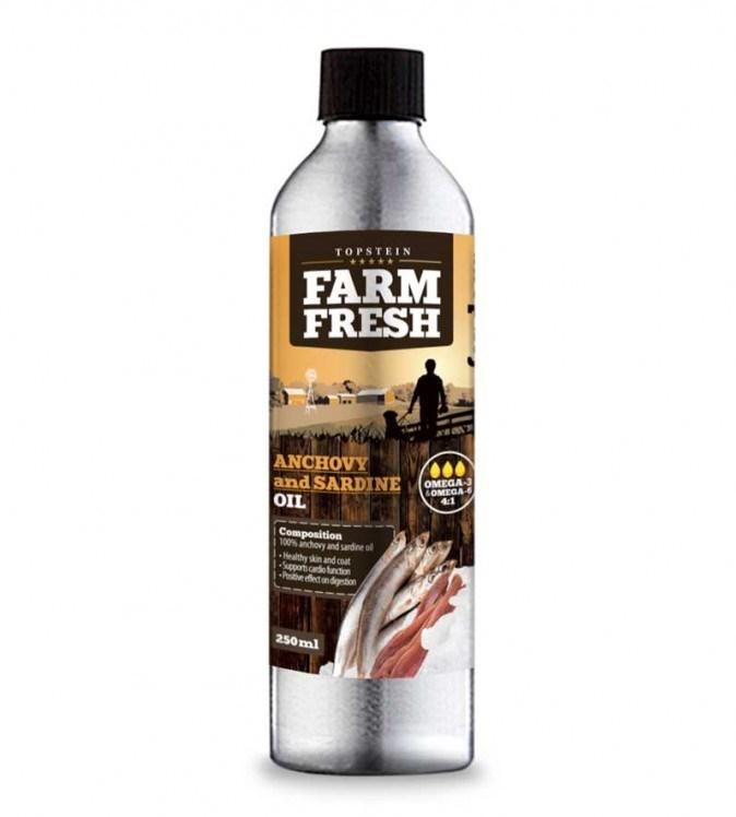 Topstein Farm Fresh Anchovy and Sardine Oil 500 ml