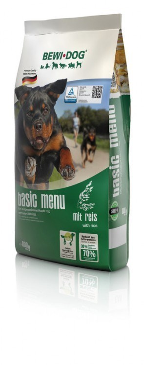BEWI DOG Basic Menue - with rice 12,5 kg