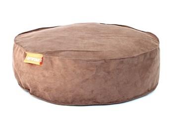 Kulatý pelíšek Aminela Full comfort 60/15 cm hnědá