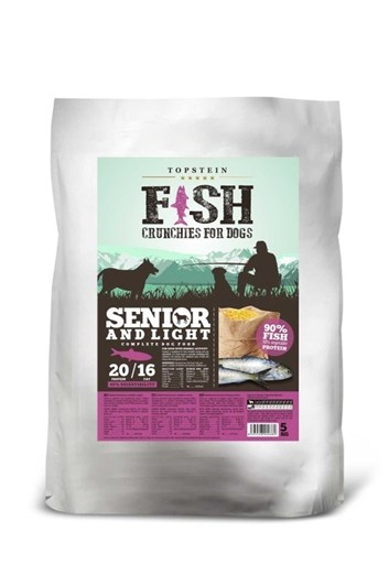 Topstein Fish Crunchies Light 30 kg (15 Kg + 15 Kg)