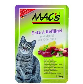 Kaps. MACs Cat KACHNA, DRŮBEŽ a JABLKO 100 g