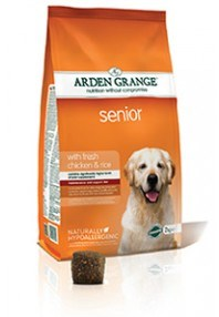 Arden Grange Senior: with fresh chicken & rice  2 Kg