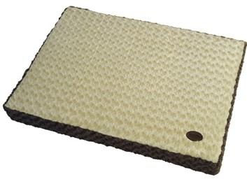 Nobby OBRA podložka s paměťovou pěnou béžová 92x65x9 cm