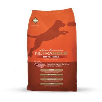 Nutra Gold Grain Free Turkey & Sweet Potato 13,6 Kg