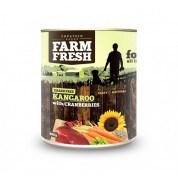 Farm Fresh – Kangaroo with Cranberries 400 g