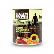 Farm Fresh – Kangaroo with Cranberries 400 g