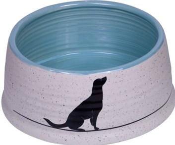 Nobby Luna keramická miska modrá 15 x 6,5 cm