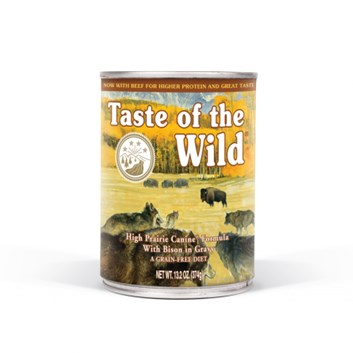 TASTE OF THE WILD High Prairie konzerva 375 g