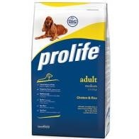 Prolife Adult Medium Chicken & Rice 15 Kg
