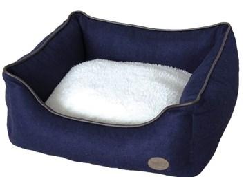 Nobby CARAN plstěný pelíšek modrý 60x48x19 cm