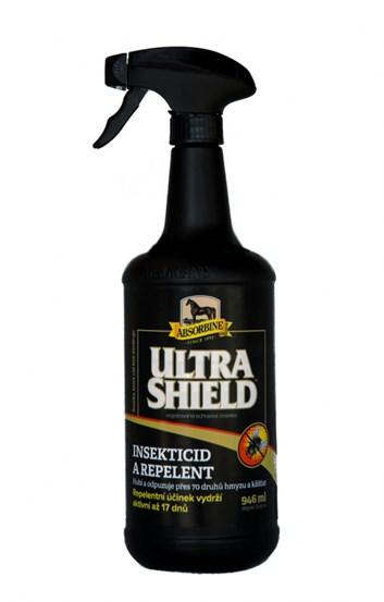 Absorbine UltraShield EX Insecticid & Repelent (Lahev s rozprašovačem, 946 ml)
