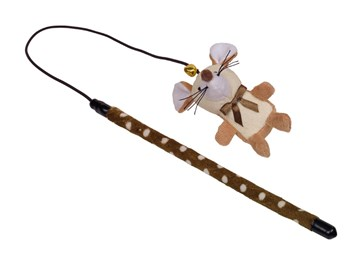 Nobby hračka udice na hraní myška 25+40 cm
