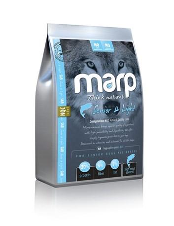 Marp Natural Senior and Light - s bílou rybou 18 Kg