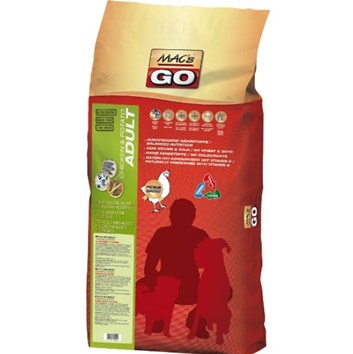 Dry MACs Dog GO DOSPĚLÝ PES - KUŘE a BRAMBORY - GRAIN FREE 12 Kg