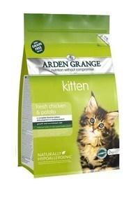 Arden Grange Kitten: fresh chicken & potato - grain free recipe  400 Kg