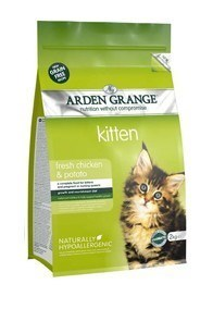 Arden Grange Kitten: fresh chicken & potato - grain free recipe 400 g