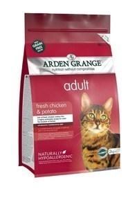 Arden Grange Adult Cat: fresh chicken & potato - grain free recipe  8 Kg