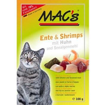 Kaps. MACs Cat KACHNA a KREVETY 100 g