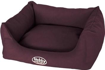 Nobby TIRA bavlněný pelíšek tmavě hnědý 75x60x23 cm
