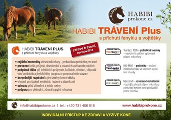 HABIBI speciální směs - TRÁVENÍ PLUS 10 Kg - 200 dní