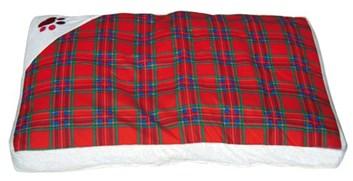 Matrace DOOGY Scottish červená 55x85x8 cm