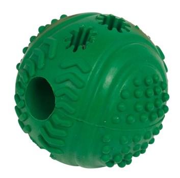 Nobby Rubber Line míč na pamlsky zelený 7 cm