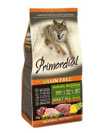 Primordial VYSOKÁ ZVĚŘ & KROCAN pro dospělé psy 2kg