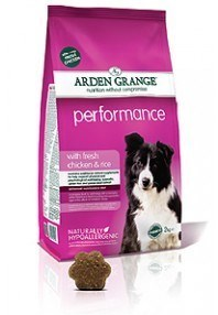 Arden Grange Performance: with fresh chicken & rice  24 Kg ( 2x 12 Kg )