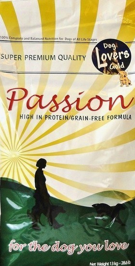 Dog Lovers Gold Passion High in Protein / Grain Free 13 kg