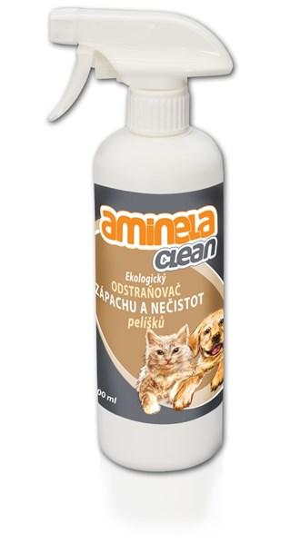 Aminela Clean Ekologický odstraňovač zápachu pelíšků 500 ml