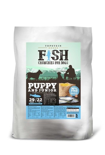 Topstein Fish Crunchies Puppy/Junior 1 Kg
