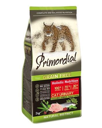Primordial KRŮTA & SLEĎ pro kočky URINARY 2kg
